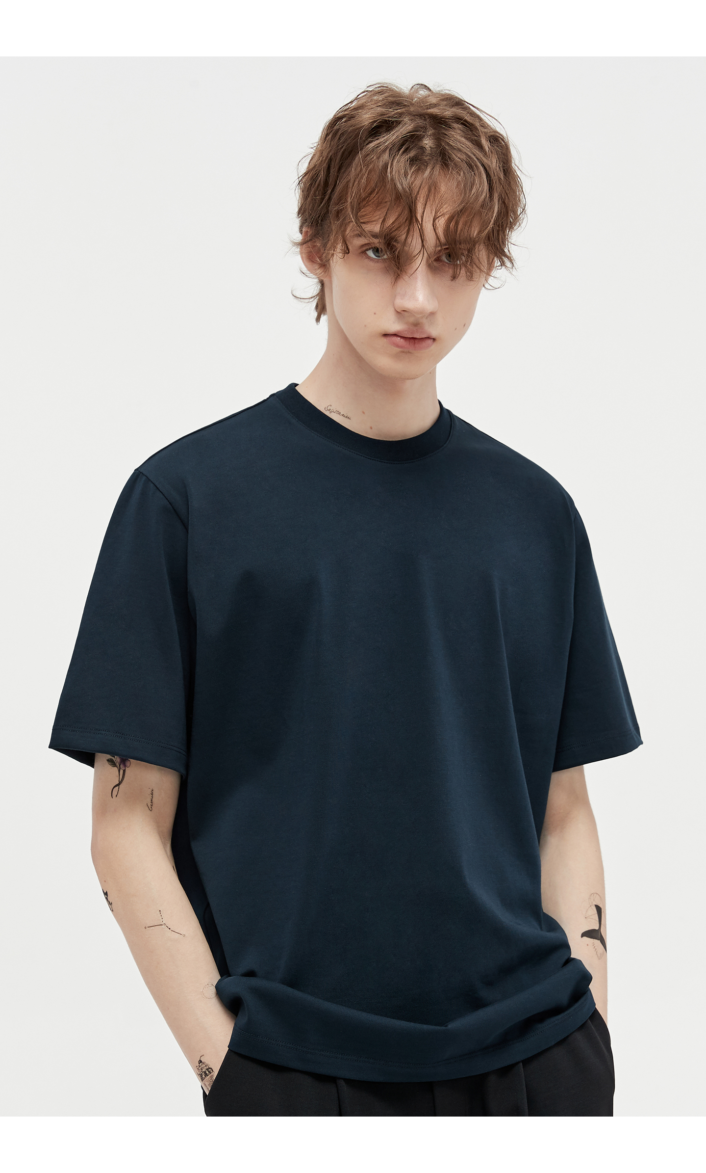 엘무드(LMOOD) WILD 수피마 티셔츠